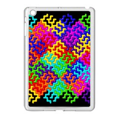 3d Fsm Tessellation Pattern Apple Ipad Mini Case (white)