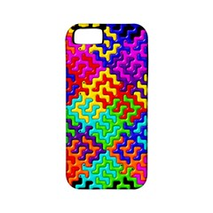3d Fsm Tessellation Pattern Apple Iphone 5 Classic Hardshell Case (pc+silicone) by BangZart