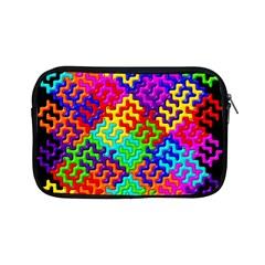 3d Fsm Tessellation Pattern Apple Ipad Mini Zipper Cases