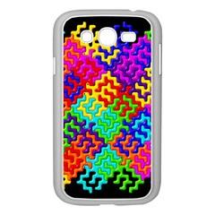 3d Fsm Tessellation Pattern Samsung Galaxy Grand Duos I9082 Case (white)