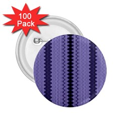 Zig Zag Repeat Pattern 2 25  Buttons (100 Pack)  by BangZart