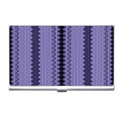 Zig Zag Repeat Pattern Business Card Holders by BangZart