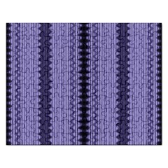 Zig Zag Repeat Pattern Rectangular Jigsaw Puzzl by BangZart