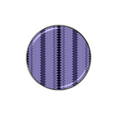 Zig Zag Repeat Pattern Hat Clip Ball Marker by BangZart