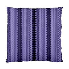 Zig Zag Repeat Pattern Standard Cushion Case (two Sides) by BangZart