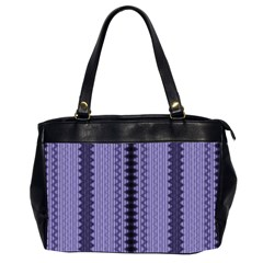 Zig Zag Repeat Pattern Office Handbags (2 Sides)  by BangZart