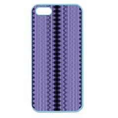 Zig Zag Repeat Pattern Apple Seamless Iphone 5 Case (color)