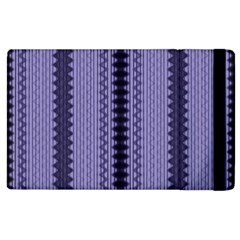 Zig Zag Repeat Pattern Apple Ipad 2 Flip Case by BangZart