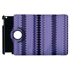 Zig Zag Repeat Pattern Apple Ipad 2 Flip 360 Case by BangZart