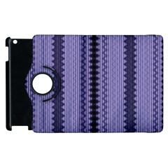 Zig Zag Repeat Pattern Apple Ipad 3/4 Flip 360 Case by BangZart