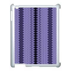 Zig Zag Repeat Pattern Apple Ipad 3/4 Case (white)