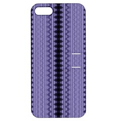 Zig Zag Repeat Pattern Apple Iphone 5 Hardshell Case With Stand by BangZart