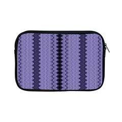 Zig Zag Repeat Pattern Apple Ipad Mini Zipper Cases by BangZart
