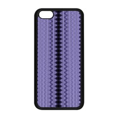 Zig Zag Repeat Pattern Apple Iphone 5c Seamless Case (black) by BangZart