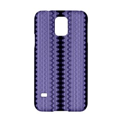 Zig Zag Repeat Pattern Samsung Galaxy S5 Hardshell Case