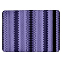 Zig Zag Repeat Pattern Samsung Galaxy Tab Pro 12 2  Flip Case