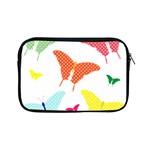 Beautiful Colorful Polka Dot Butterflies Clipart Apple iPad Mini Zipper Cases Front