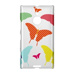 Beautiful Colorful Polka Dot Butterflies Clipart Nokia Lumia 1520 by BangZart