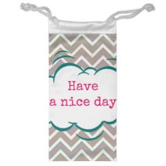 Have A Nice Day Jewelry Bag by BangZart