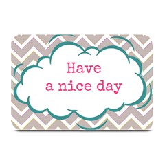 Have A Nice Day Plate Mats by BangZart