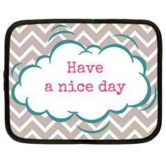 Have A Nice Day Netbook Case (xxl)