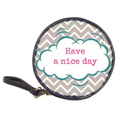 Have A Nice Day Classic 20 Cd Wallets by BangZart