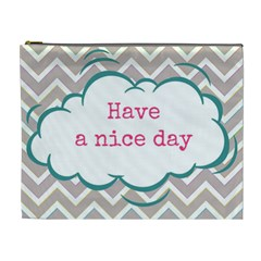 Have A Nice Day Cosmetic Bag (xl)