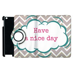 Have A Nice Day Apple Ipad 2 Flip 360 Case by BangZart