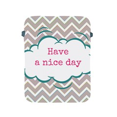 Have A Nice Day Apple Ipad 2/3/4 Protective Soft Cases by BangZart