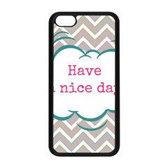 Have A Nice Day Apple Iphone 5c Seamless Case (black) by BangZart