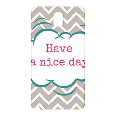 Have A Nice Day Samsung Galaxy Note 3 N9005 Hardshell Back Case