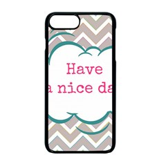 Have A Nice Day Apple Iphone 7 Plus Seamless Case (black) by BangZart