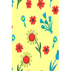 Flowers Fabric Design 5 5  X 8 5  Notebooks by BangZart