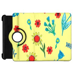 Flowers Fabric Design Kindle Fire Hd 7  by BangZart