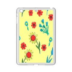 Flowers Fabric Design iPad Mini 2 Enamel Coated Cases