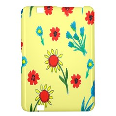 Flowers Fabric Design Kindle Fire Hd 8 9  by BangZart