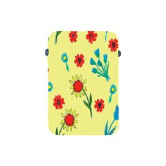 Flowers Fabric Design Apple Ipad Mini Protective Soft Cases