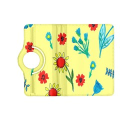 Flowers Fabric Design Kindle Fire Hd (2013) Flip 360 Case by BangZart