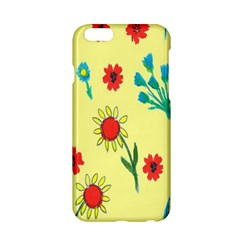 Flowers Fabric Design Apple Iphone 6/6s Hardshell Case by BangZart