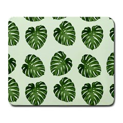 Leaf Pattern Seamless Background Large Mousepads