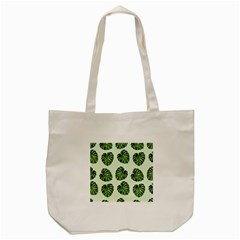 Leaf Pattern Seamless Background Tote Bag (cream) by BangZart