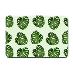 Leaf Pattern Seamless Background Small Doormat