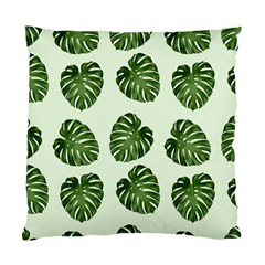 Leaf Pattern Seamless Background Standard Cushion Case (one Side) by BangZart
