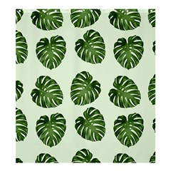Leaf Pattern Seamless Background Shower Curtain 66  X 72  (large)  by BangZart