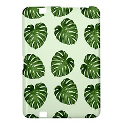 Leaf Pattern Seamless Background Kindle Fire Hd 8 9  by BangZart