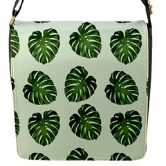 Leaf Pattern Seamless Background Flap Messenger Bag (s) by BangZart