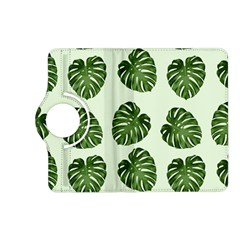 Leaf Pattern Seamless Background Kindle Fire Hd (2013) Flip 360 Case by BangZart