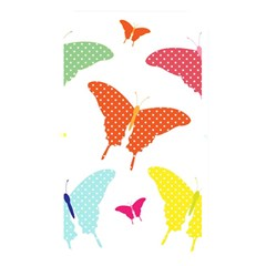 Beautiful Colorful Polka Dot Butterflies Clipart Memory Card Reader