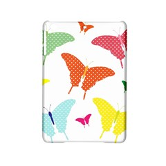Beautiful Colorful Polka Dot Butterflies Clipart Ipad Mini 2 Hardshell Cases by BangZart