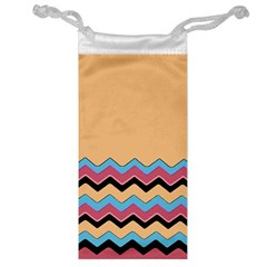 Chevrons Patterns Colorful Stripes Jewelry Bag